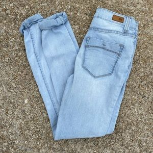 RSQ Manhattan high rise, distressed jeans
